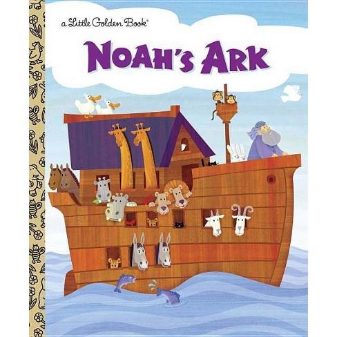 Noah's Ark - (Little Golden Book) by  Barbara Shook Hazen (Hardcover) - image 1 of 1