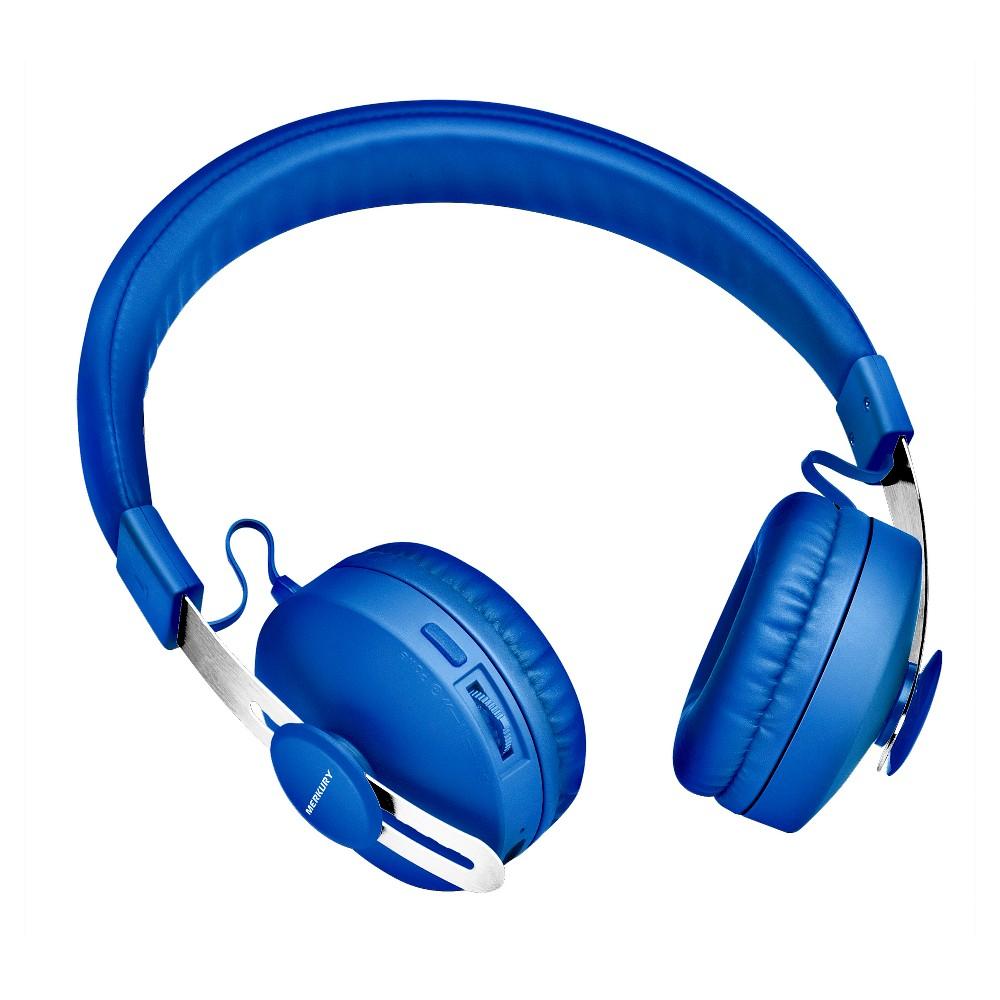 Merkury Signals Wireless Bluetooth Headphones - Blue