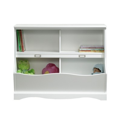 Twin Pogo Bookcase/Footboard Soft White Finish - Sauder