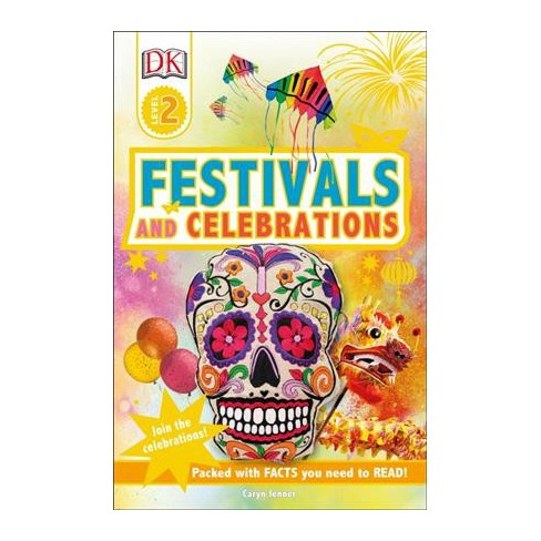DK Readers L2 Festivals and Celebrations - by  Caryn Jenner (Paperback) - image 1 of 1