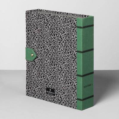 File Box - Green/Black - Hearth & Hand™ with Magnolia