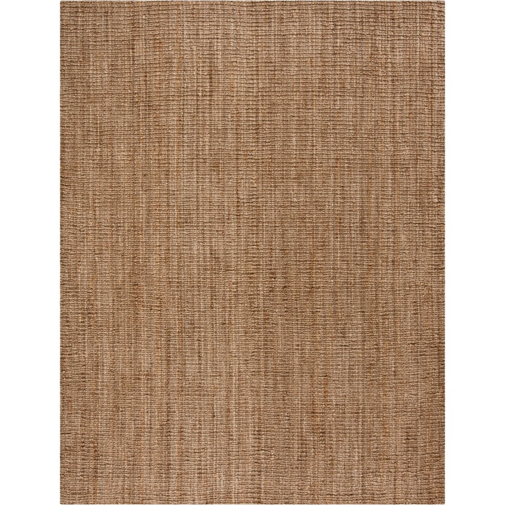 Solid Woven Area Rug Natural/Gray