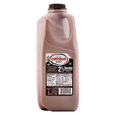 Umpqua 2% Chocolate Milk - 0.5gal
