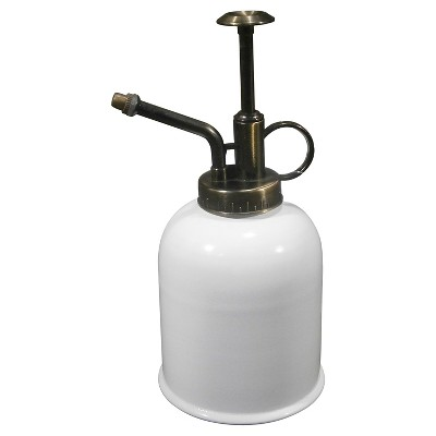.08 Gallon Metal Watering Can - White - Threshold™