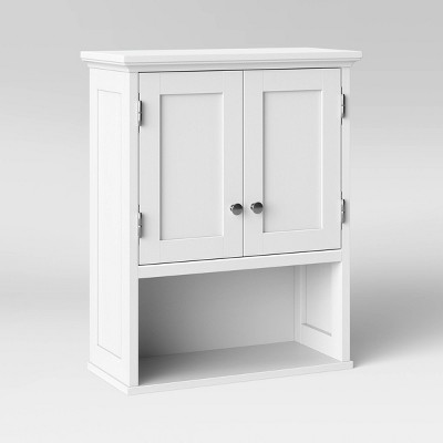 Wood Wall Cabinet White - Threshold™