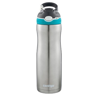 Contigo Autospout Straw Ashland Stainless Steel Chill Hydration Bottle 20oz - Scuba