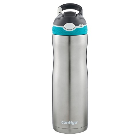 Contigo Autospout Straw Ashland Stainless Steel Chill Hydration Bottle 20oz - Scuba - image 1 of 4
