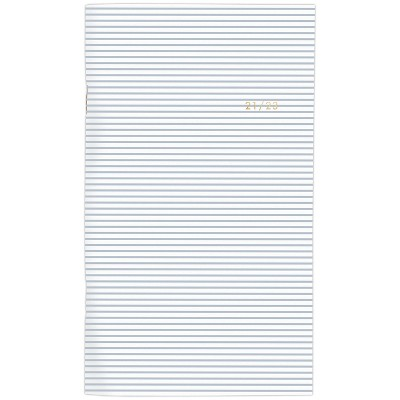 """2021-22 Academic 2-Year Packet Planner 3.625"""" x 6.25"""" Monthly Stripe - Sugar Paper™"""
