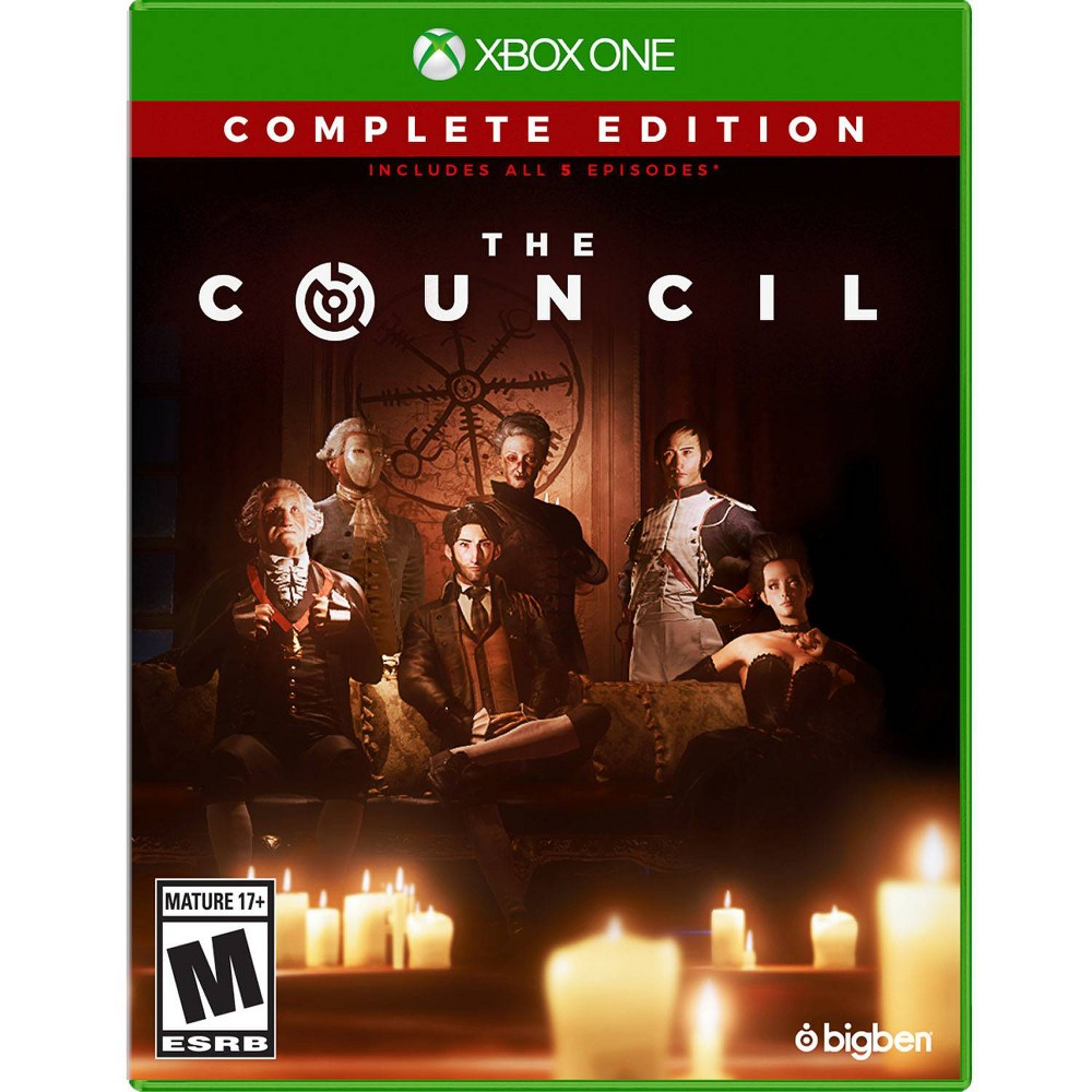 The Council - Xbox One., Video Games