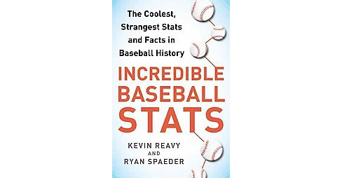 Incredible Baseball Stats : The Coolest, Strangest Stats and Facts in Baseball History (Paperback) - image 1 of 1