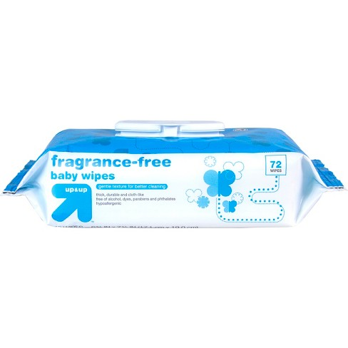 Fragrance Free Baby Wipes - 72ct - Up&Up™ - image 1 of 3