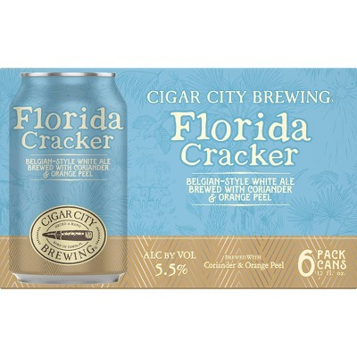 Cigar City Frost Proof Belgian-style White Ale Beer - 6pk/12 fl oz Cans