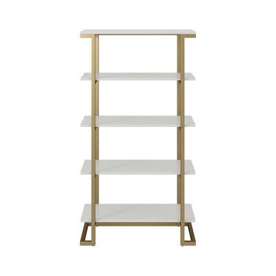 Camila 5 Shelf Bookcase - CosmoLiving by Cosmopolitan