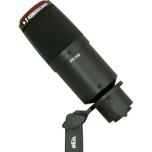 Heil Sound PR 30B Large-Diaphragm Dynamic Microphone Black - image 1 of 4