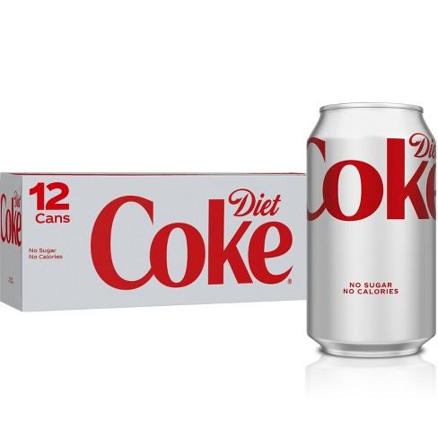 Diet Coke - 12pk/12 fl oz Cans - image 1 of 4