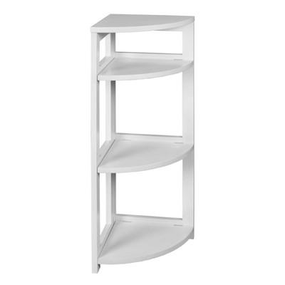 "34"" Cakewalk High Corner Folding Bookcase - Regency"