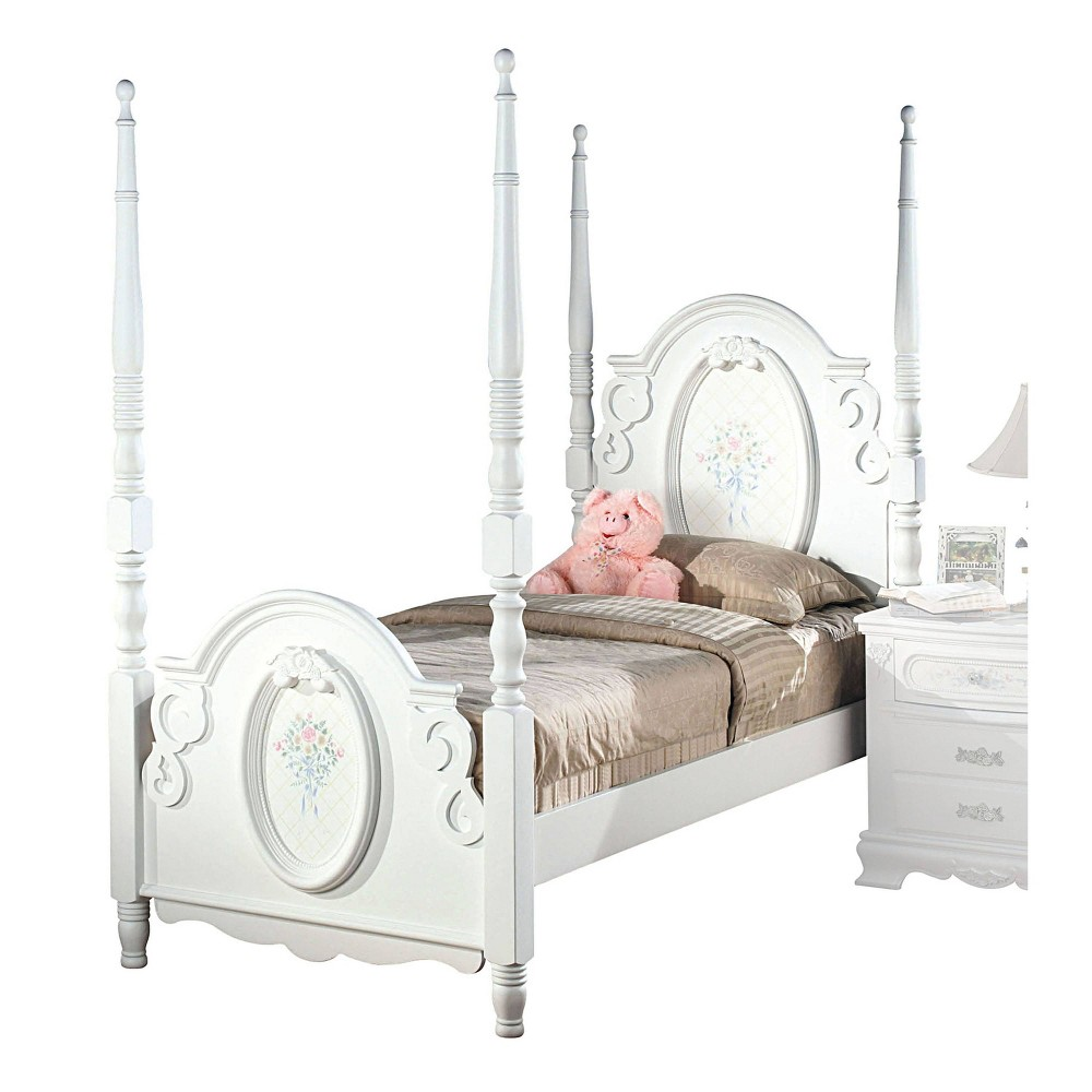 Full Flora Bed White - Acme