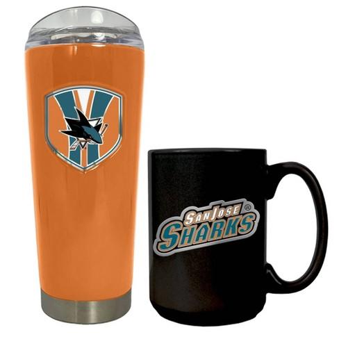 NHL San Jose Sharks Roadie Tumbler and Mug Set - image 1 of 1
