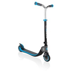 Globber Flow 125 Foldable Kick Scooter - Sky Blue