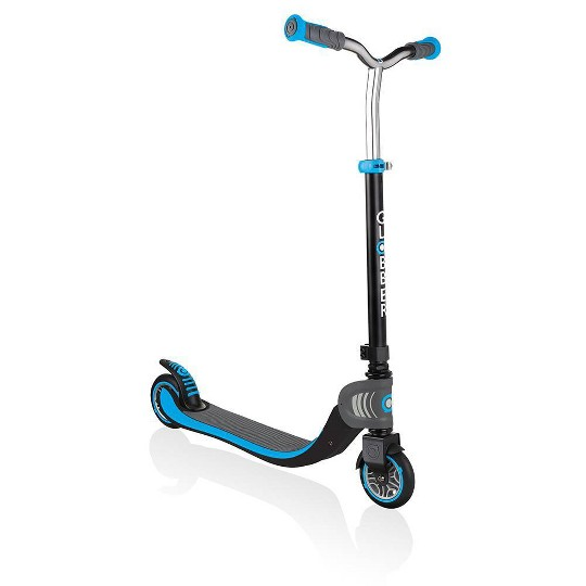 Globber Flow 125 Foldable Kick Scooter - Sky Blue, Kids Unisex image number null