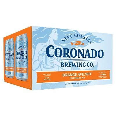 Coronado Orange Ave Wit Beer - 6pk/12 fl oz Cans