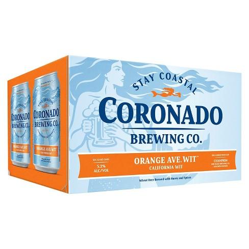 Coronado Orange Ave Wit Beer - 6pk/12 fl oz Cans - image 1 of 2
