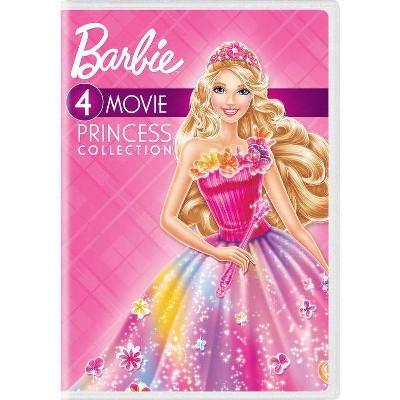 Barbie 4-Movie Princess Collection (DVD)