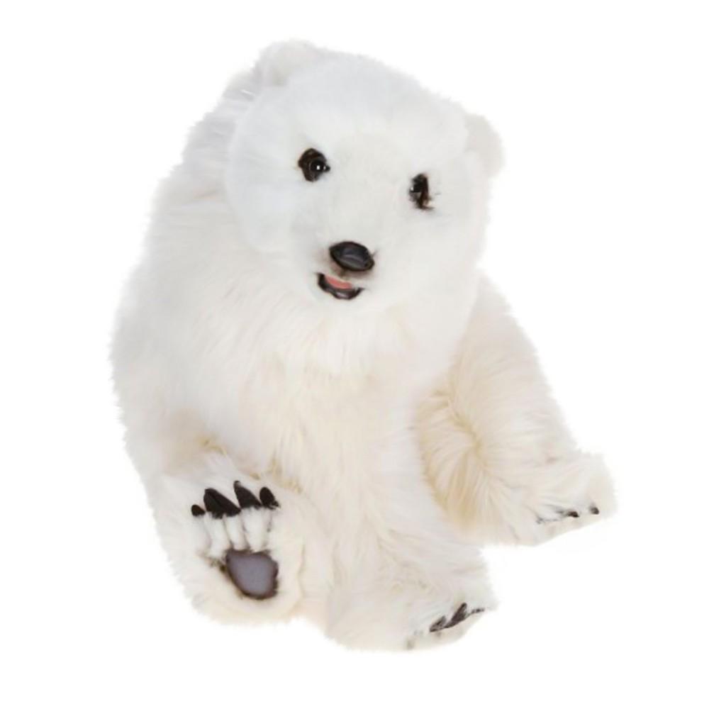 Hansa Seated Polar Cub Plush Toy