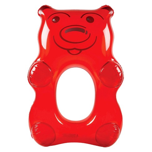Big Mouth Toys Giant Gummy Bear Pool Float Red Target