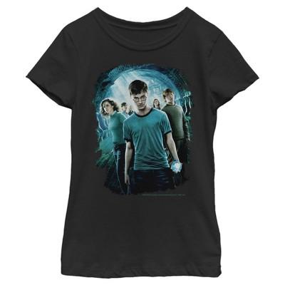 Girl's Harry Potter Department of Mysteries Battle T-Shirt