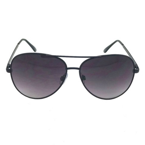 0a2fc2f82a9 Women s Aviator Sunglasses - A New Day™ Black   Target