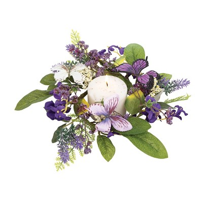 Gallerie II Butterfly Floral Easter Wreath