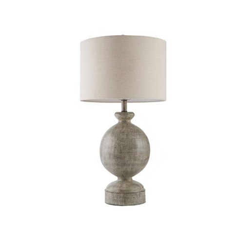 Curren Table Lamp Gray (Lamp Only) - image 1 of 4