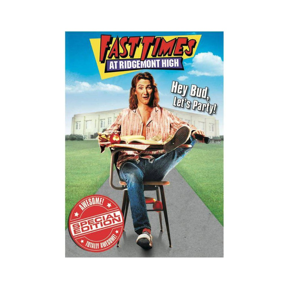 Fast Times At Ridgemont High With Movie Cash Dvd