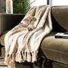 Peppin Metallic Throw Blanket Natural/Gold - Safavieh - image 3 of 3