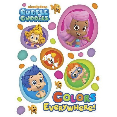 Colors Everywhere! - (Bubble Guppies) (Board Book)