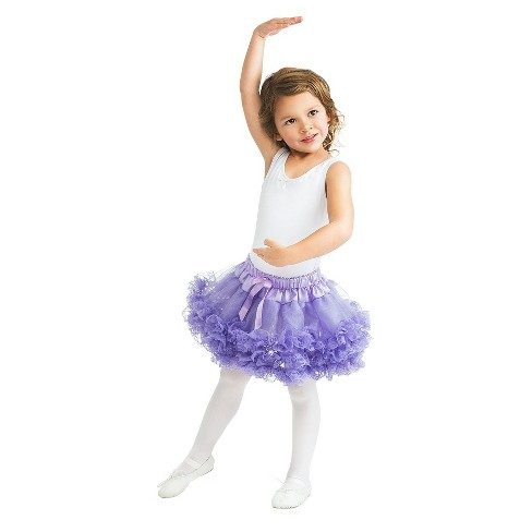 Little Adventures Fluffy Lace Tutu Lavender - image 1 of 1