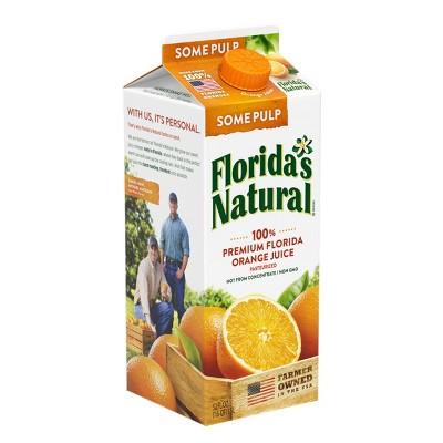 Florida's Natural Some Pulp Orange Juice - 52 fl oz