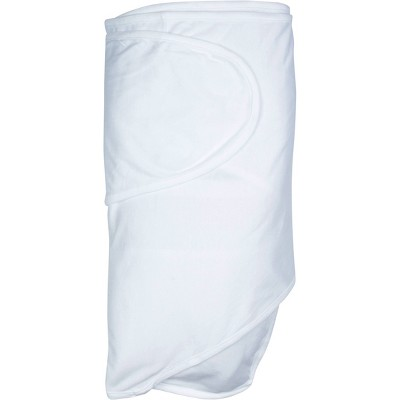 Miracle Blanket Swaddle Wrap Solid White