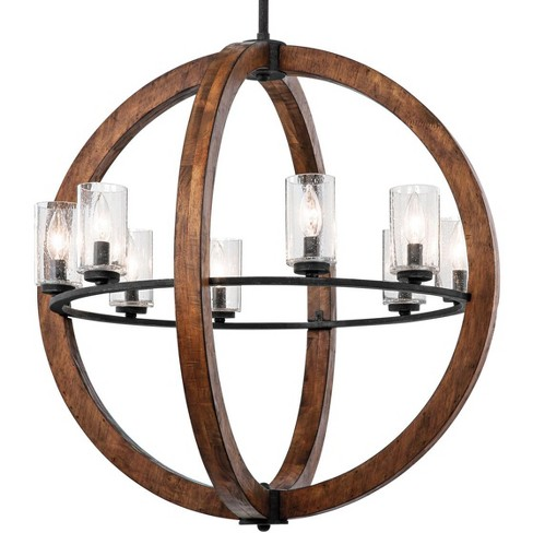 "Kichler 43190 Grand Bank 8 Light 28"" Globe Chandelier - image 1 of 4"