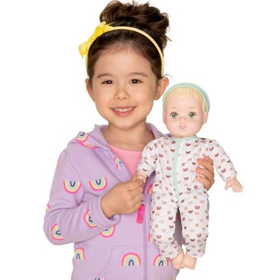 """Perfectly Cute Teddy Bear Bodysuit 2pc Outfit - for 14"""" Dolls"""