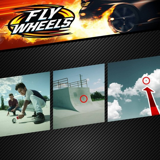 Fly Wheels Twin Turbo Launcher Green image number null