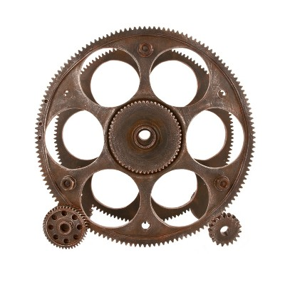 true Gears And Wheels Wine Rack - Bronze