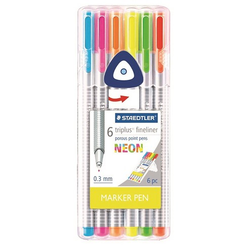 Pen Set 6 Ea Multicolored Porous Point Staedtler   Target 2aaf2e6aa2