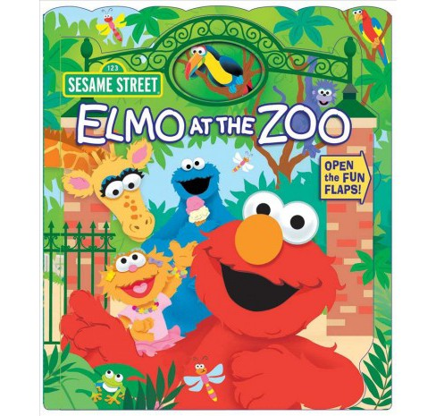 Elmo at the Zoo -  (Sesame Street) by Lori C. Froeb (Hardcover) - image 1 of 1