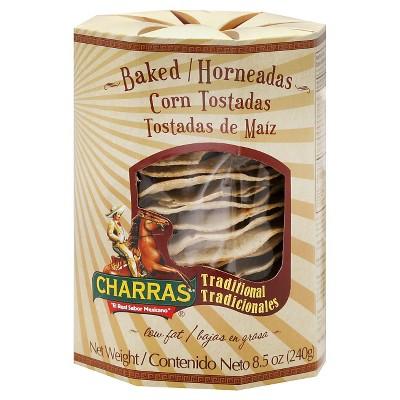 Charras Traditional Corn Tostadas - 8.4oz/8pk