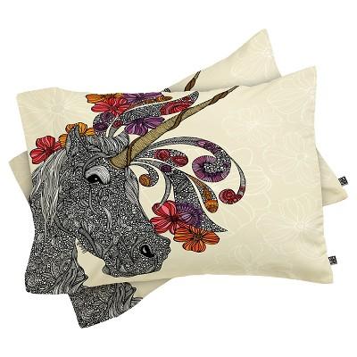 Valentina Ramos Unicornucopia Lightweight Pillowcase Standard Purple - Deny Designs