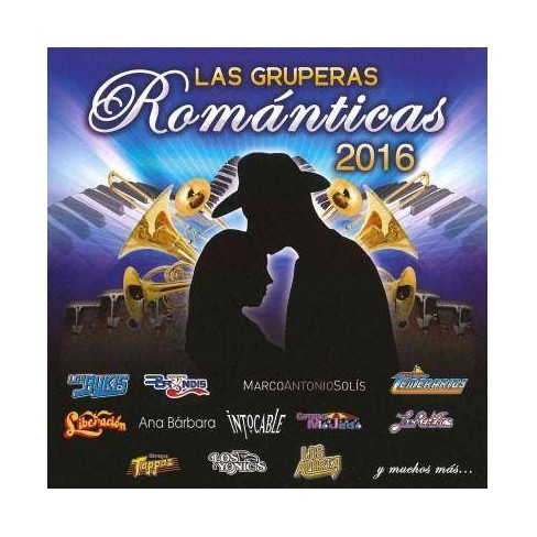 Various Artists - Las Gruperas Romanticas 2016 (CD) - image 1 of 1