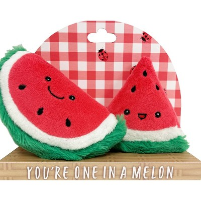 Purely Luxe Watermelon Rattle & Crinkle Set