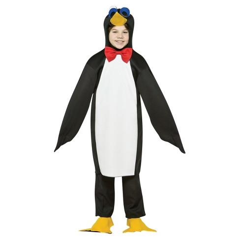 Kids' Penguin Costume - One Size - image 1 of 1